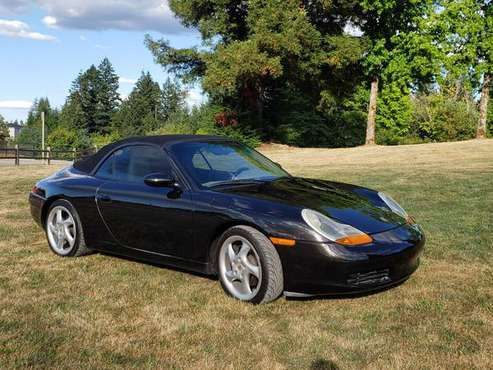 2000 Porsche 911 Convertible - cars & trucks - by owner - vehicle... for sale in Beaverton, OR