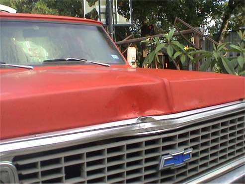 1972 Chevrolet Pickup for sale in Cadillac, MI