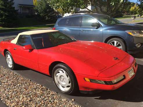 1991 Corvette convertible for sale in Prior Lake, MN