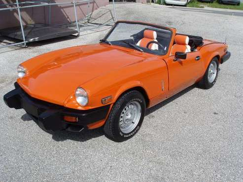 1979 Triumph Spitfire 1500 Roadster for sale in PORT RICHEY, FL
