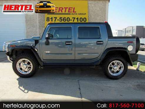 2008 Hummer H2 SUT 6.2L V8 4x4 with Upgrades & Clean CARFAX for sale in Fort Worth, TX