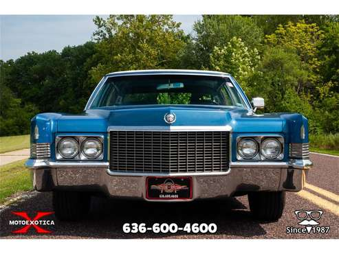 1970 Cadillac Fleetwood Brougham for sale in St. Louis, MO