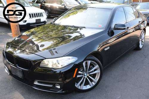 2016 *BMW* *5 Series* *528i xDrive* Black Sapphire M for sale in Avenel, NJ
