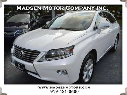 2015 Lexus RX 350 FWD, 48k, Starfire Pearl, fresh! for sale in Cary, NC