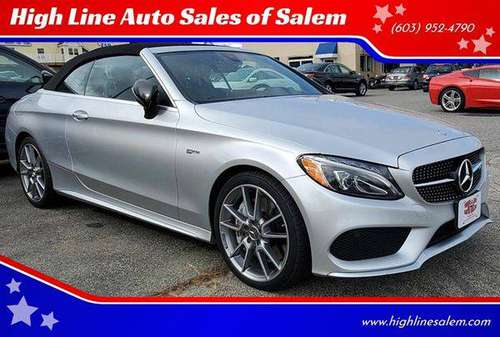 2017 Mercedes-Benz C-Class AMG C 43 AWD 4MATIC 2dr Convertible... for sale in Salem, MA