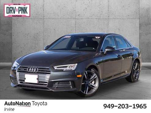 2017 Audi A4 Premium Plus AWD All Wheel Drive SKU:HN049018 - cars &... for sale in Irvine, CA