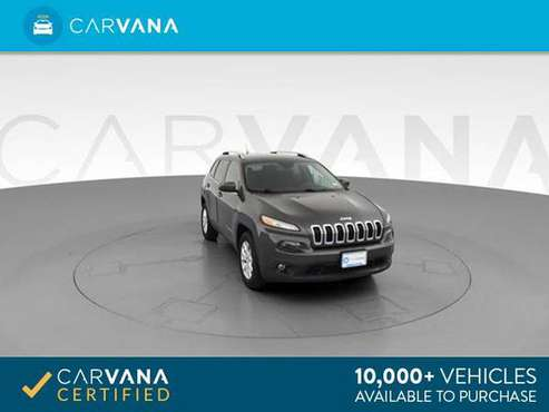 2017 Jeep Cherokee Latitude Sport Utility 4D suv Gray - FINANCE ONLINE for sale in Indianapolis, IN