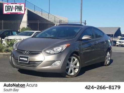 2012 Hyundai Elantra Limited PZEV SKU:CH119825 Sedan for sale in Torrance, CA