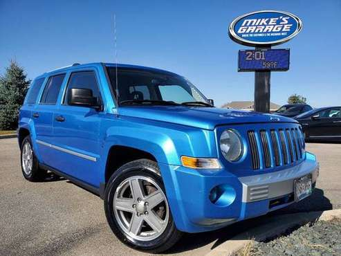 2008 Jeep Patriot Limited 4dr SUV w/CJ1 Side Airbag Package for sale in Faribault, MN