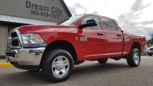2014 Ram 2500 Crew Cab Diesel 4x4 Dodge Tradesman 4D 6 1/3 ft 6 SPEED for sale in Portland, OR