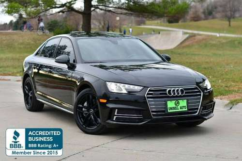 2017 Audi A4 2.0T quattro Premium AWD 4dr Sedan w/Season of Aud... for sale in Omaha, NE
