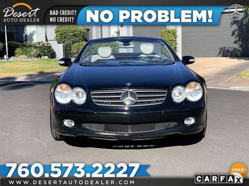 This 2003 Mercedes-Benz SL500 63,000 MILES Convertible is THOUSANDS... for sale in Palm Desert , CA