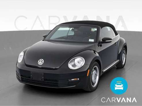 2014 VW Volkswagen Beetle 1.8T Convertible 2D Convertible Black - -... for sale in Colorado Springs, CO