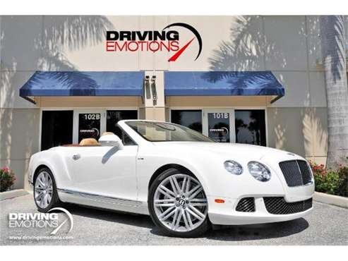 2014 Bentley Continental GT Speed for sale in West Palm Beach, FL