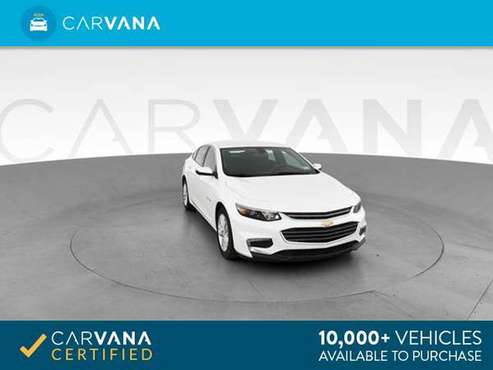 2016 Chevy Chevrolet Malibu LT Sedan 4D sedan WHITE - FINANCE ONLINE for sale in Montrose, MI
