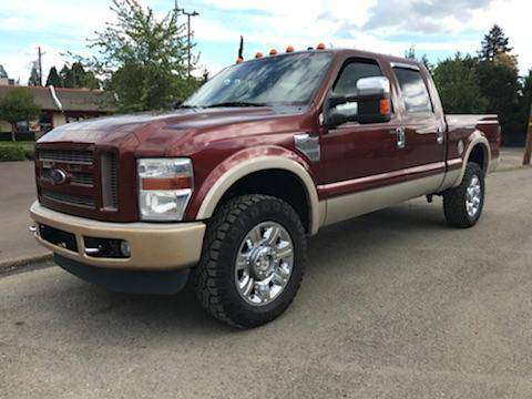 2008 F350 King Ranch Crew Cab 4x4 for sale in Amity, OR