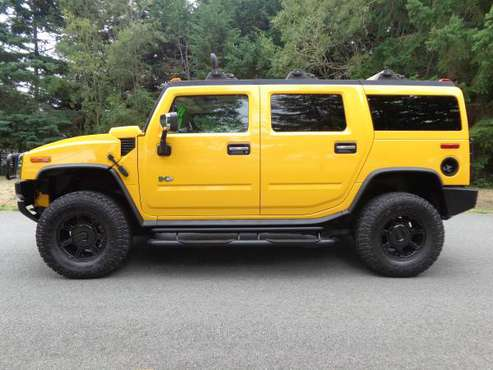 2003 HUMMER H2 ~ 4x4 6.0L V8! Excellent Service History! for sale in Sequim, WA