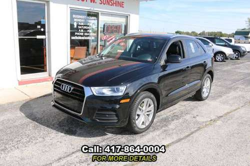 2017 Audi Q3 Premium Leather - Backup Camera - SunRoof - Very Nice SUV for sale in Springfield, MO