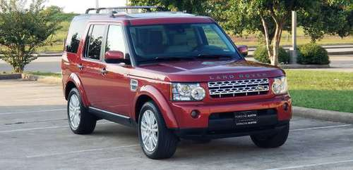 2011 LAND ROVER LR4 HSE AWD for sale in Houston, TX