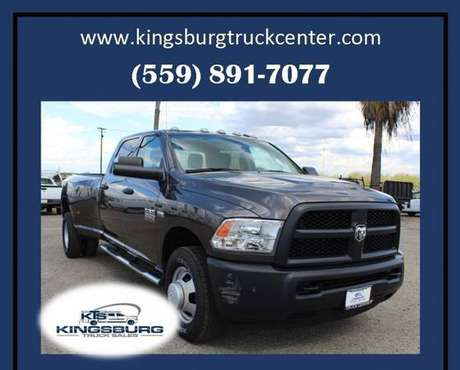 2016 RAM Ram Pickup 3500 Tradesman 4x2 4dr Crew Cab Long Bed Dually... for sale in Kingsburg, CA