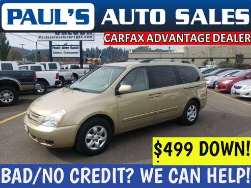 2010 KIA SEDONA *LOW MILES!**BAD CREDIT IS NO PROBLEM HERE!!* for sale in Eugene, OR