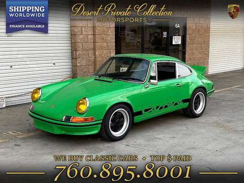 1970 Porsche 911 out law Carrera RS Tribute Coupe with a GREAT COLOR... for sale in Palm Desert, MT