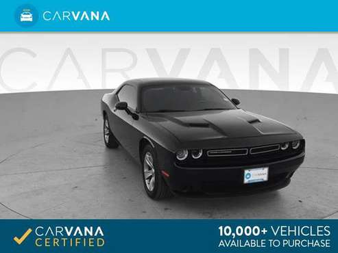 2016 Dodge Challenger SXT Coupe 2D coupe Black - FINANCE ONLINE for sale in Oklahoma City, OK