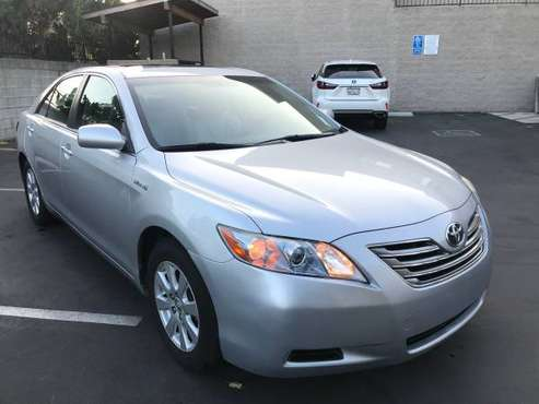 2007 Toyota Camry Hybrid Sedan Silver 107K Clean*Financing Available* for sale in Rosemead, CA