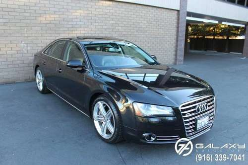 2011 AUDI A8 QUATTRO - SPORT PKG - HEAT, COOLED, & MASSAGE SEATS -... for sale in Sacramento , CA