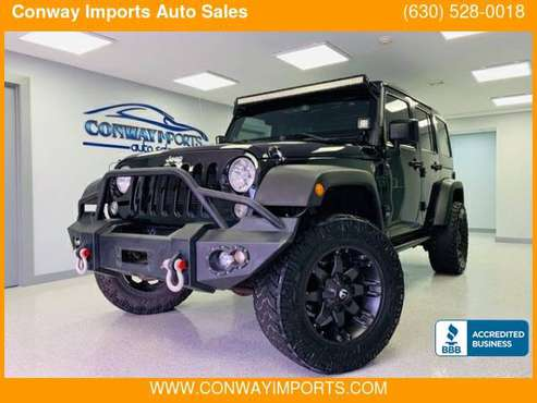2014 Jeep Wrangler Unlimited 4WD 4dr Sport *GUARANTEED CREDIT... for sale in Streamwood, IL