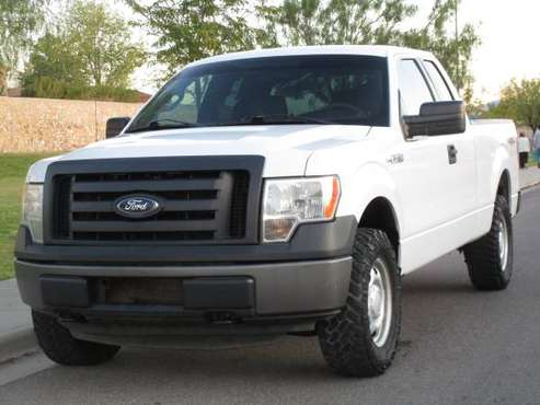 2012 FORD F150 V8 5.0L 4X4! 4 DOOR! CLEAN TITLE! ONE OWNER! for sale in El Paso, TX