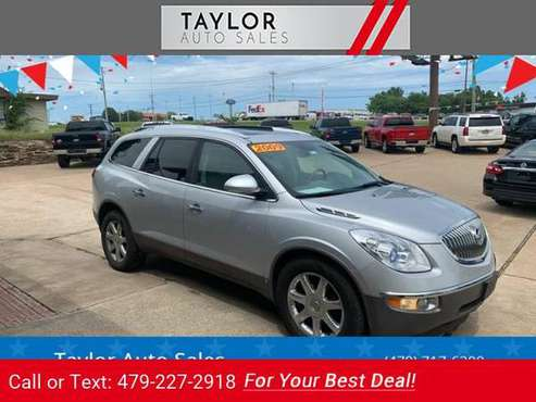 2009 Buick Enclave CXL AWD 4dr Crossover suv Silver for sale in Springdale, AR