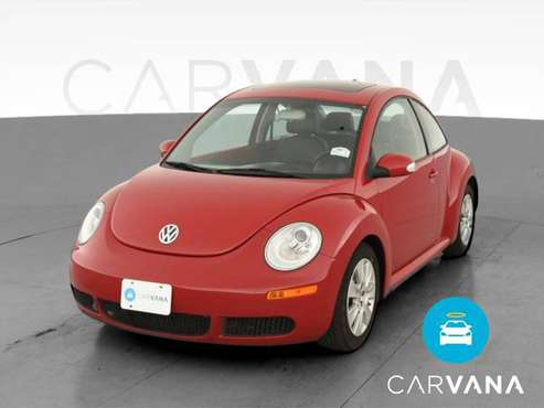 2009 VW Volkswagen New Beetle Hatchback 2D hatchback Red - FINANCE -... for sale in South El Monte, CA