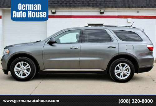 2013 Dodge Durango SXT AWD*New Tires*$239 Per Month! for sale in Fitchburg, WI