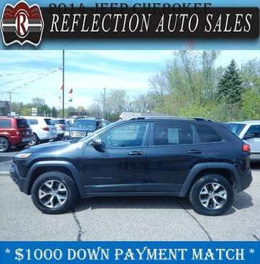 2014 Jeep Cherokee Trailhawk - Manager's Special! - cars & trucks -... for sale in Oakdale, MN
