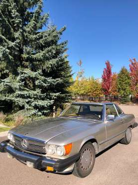 Mercedes 560 SL convertible for sale in Somers, MT