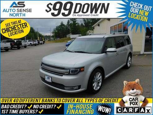 2017 Ford Flex Limited - BAD CREDIT OK! - cars & trucks - by dealer... for sale in Chichester, NH