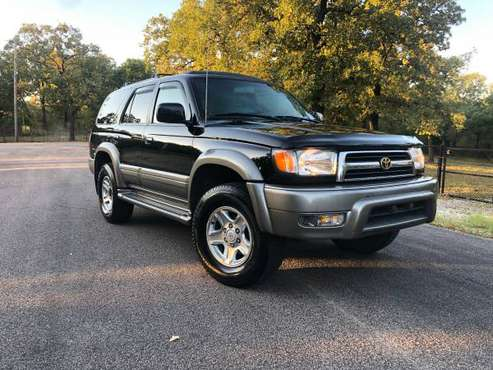 1999 1 owner show room condition 4wd 4runner rear locker fully loaded for sale in Burleson, TX