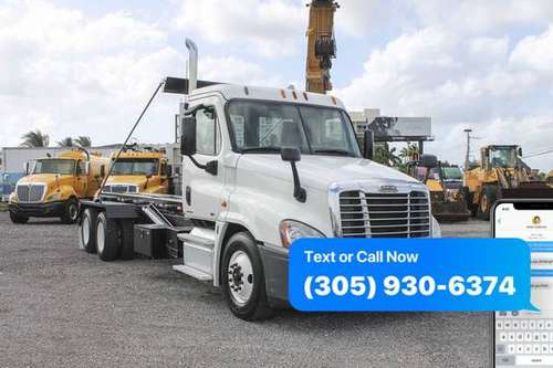 2012 Freightliner Cascadia Roll Off Truck For Sale *WE FINANCE BAD... for sale in Miami, FL