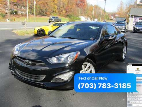 2013 HYUNDAI GENESIS COUPE 3.8 Grand Touring ~ WE FINANCE BAD CREDIT... for sale in Stafford, District Of Columbia