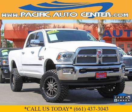 2014 Ram 2500 Longhorn Limited Crew Cab Custom Diesel (22142) for sale in Fontana, CA