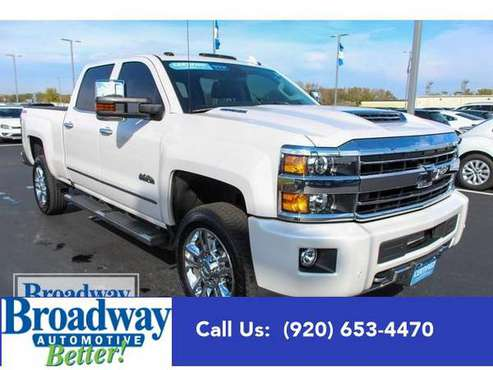 2018 Chevrolet Silverado 2500HD truck High Country - for sale in Green Bay, WI