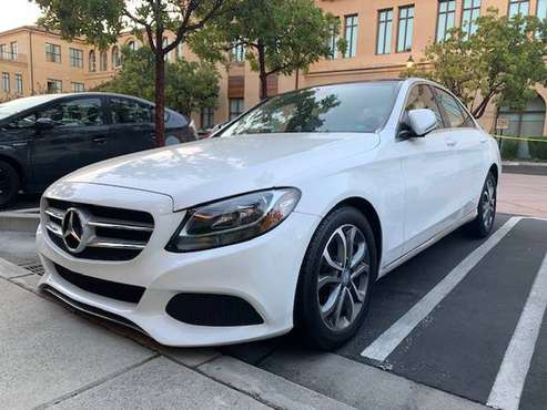 Mercedes Benz 2016 c300 - WHITE for sale in Los Gatos, CA