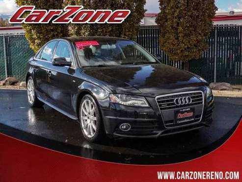 2012 Audi A4 4dr Sdn Auto quattro 2.0T Premium Plus - cars & trucks... for sale in Reno, CA
