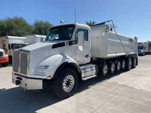 2018 KENWORTH T880 SIMPLE 18 DUMP TRUCK for sale in Phoenix, TX