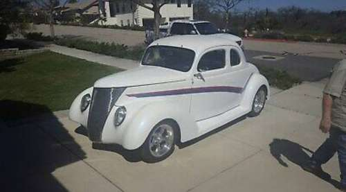 1937 Ford 5 Window Coupe for sale in Paso robles , CA