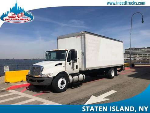 2012 INTERNATIONAL 4300 33K GVW CAB CHASSI READY FOR DUMP HOO-brooklyn for sale in STATEN ISLAND, NY