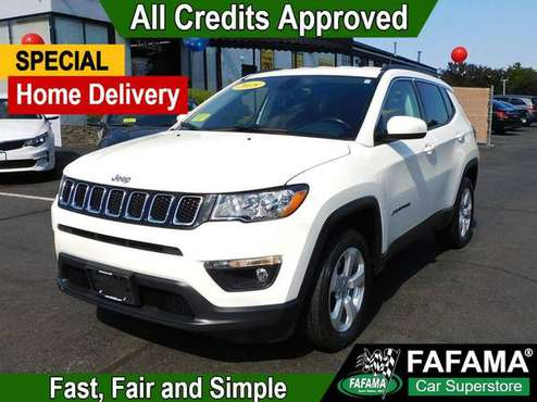 2018 Jeep Compass Latitude 4x4 - cars & trucks - by dealer - vehicle... for sale in Milford, MA