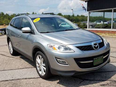 2011 Mazda CX-9 Grand Touring AWD, 130K, Leather, Roof, Nav Cam 7 Pass for sale in Belmont, ME