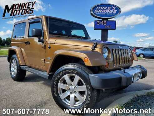 2011 Jeep Wrangler 70th Anniversary 4x4 2dr SUV for sale in Faribault, MN
